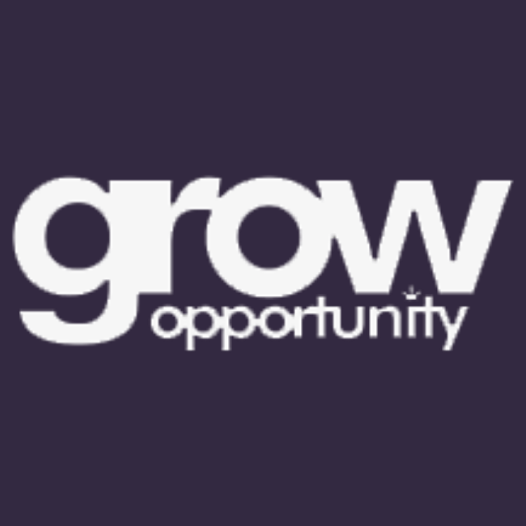Grow Opportunity - Violet Background