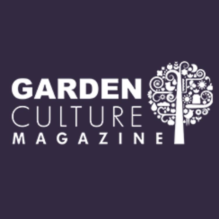 Garden Culture Magazine - Violet Background