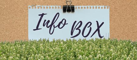 Info Box Banner